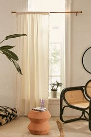 Palma Fringe Light Blocking Window Curtain