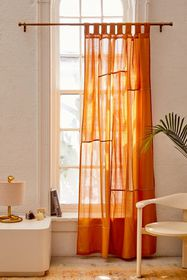 Chloe Patchwork Gauze Curtain