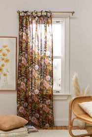 Mila Floral Window Panel