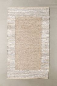 Moore Leather Woven Rag Rug