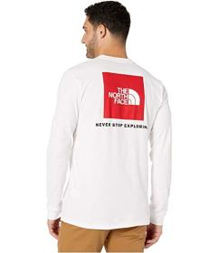 The North Face Long Sleeve Red Box T-Shirt