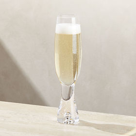 Crate Barrel Direction Champagne Glass