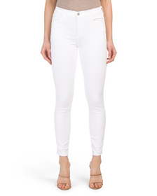 J BRAND Made In Usa Alana High Rise Crop Skinny Je