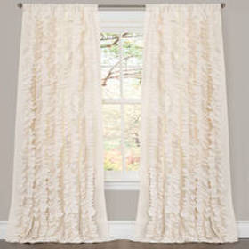 Lush Décor® Belle Ivory Window Curtain