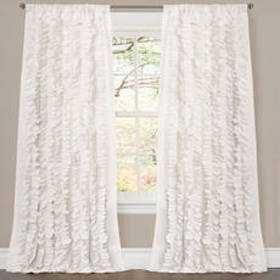 Lush Décor® Belle White Window Curtain