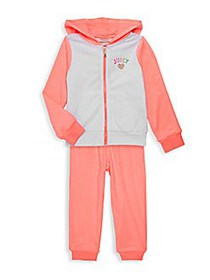 Juicy Couture Little Girl's 2-Piece Hoodie & Pant