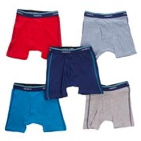 HANES Toddler Boys 5-Pack ComfortSoft Boxer Briefs