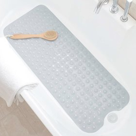 Zimtown Non Slip Bath Tub Mat Anti Slip Extra Long