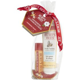 Burt's Bees Hive Favorites Strawberry Holiday Gift