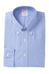 Brooks Brothers Checkered Long Sleeve Madison Fit