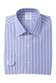 Brooks Brothers Striped Long Sleeve Regent Fit Shi