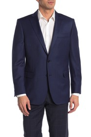 Brooks Brothers Blue Gingham Two Button Notch Lape