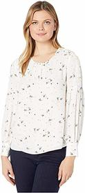 Vince Camuto Vince Camuto - Long Bubble Sleeve Whi