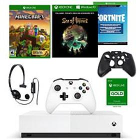 Xbox One S 1TB Digital Console with Wired Headset