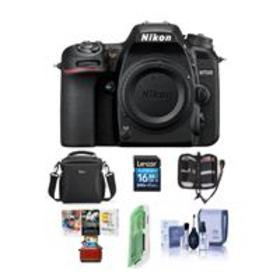 Nikon D7500 DSLR Body, Black - With Free Mac Acces