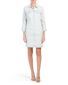 J BRAND Denim Jacket Dress