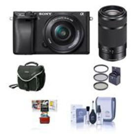 Sony Alpha A6000 Mirrorless w/16-50mm & 55-210mm O