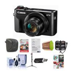 Canon PowerShot G7 X Mark II Digital Camera and Pr
