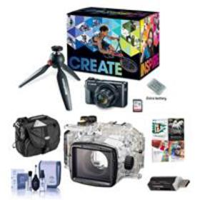 Canon PowerShot G7 X Mark II Camera and Video Kit