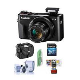 Canon PowerShot G7 X Mark II Digital Camera and Fr