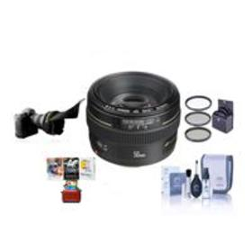 Canon EF 50mm f/1.4 USM AF Lens, USA With Free Mac