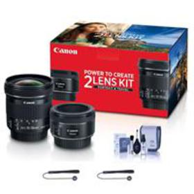 Canon Portrait & Travel 2 Lens Kit w/EF 50mm f/1.8
