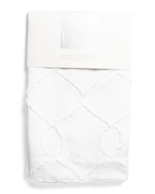 ELLE DECOR 38x84 Set Of 2 Cleo Embroidered Curtain