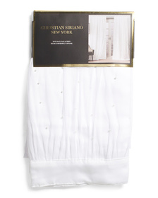 CHRISTIAN SIRIANO 38x84 Set Of 2 Pearl Layered The