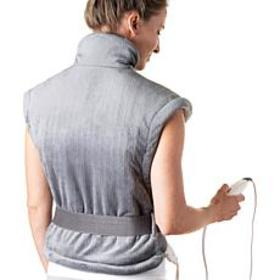Pure Relief Extra Long Back and Neck Heating Pad