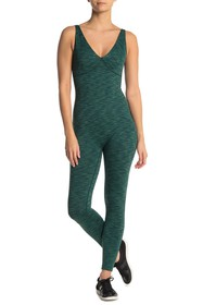 Outdoor Voices Sleeveless V-Neck Workout Jumpsuit
