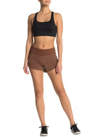 Outdoor Voices Paneled Mid Rise Shorts