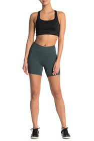 Outdoor Voices Paneled Mid Rise Bike Shorts