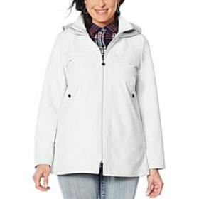 """""""As Is"""" Laurier Emma Softshell Jacket with Hood"""