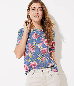 Garden Elbow Sleeve Tee