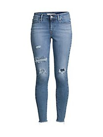 Levi's Distressed Skinny Jeans BLUE