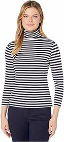 Vince Camuto Vince Camuto - 3/4 Sleeve Mock Neck P