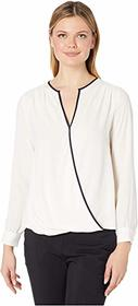 Vince Camuto Vince Camuto - Long Sleeve Wrap Front