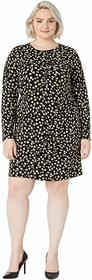 MICHAEL Michael Kors Plus Size Tossed Lilies Ruffl