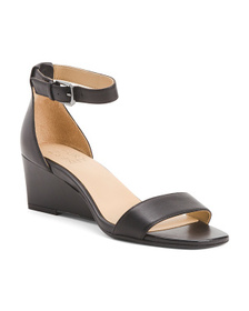 NATURALIZER All Day Comfort Leather Wedge Sandals