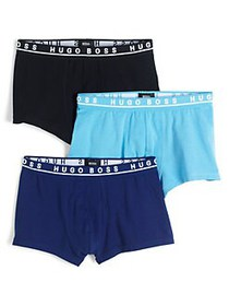 BOSS 3-Pack Stretch-Cotton Boxers ASSORTED