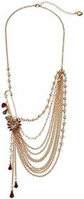 Betsey Johnson Chain Swag Necklace