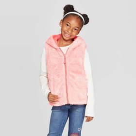 Girls' Reversible Fashion Vest - Cat & Jack™
