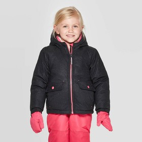 Toddler Girls' Sparkle Tech Fashion Jacket - Cat &