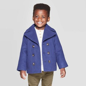 Toddler Boys' Pea Coat - Cat & Jack™ Navy