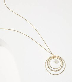 Inner Circle Pendant Necklace