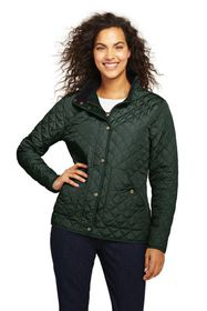 Lands End Women's Tall Quilted Barn Insulated Jack