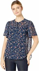Vince Camuto Vince Camuto - Elbow Sleeve Ditsy Flo
