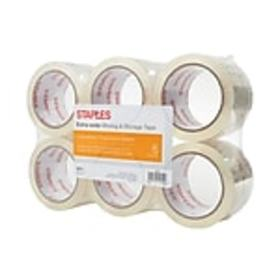 Staples® Moving & Storage Packing Tape, 2.83 x 54.