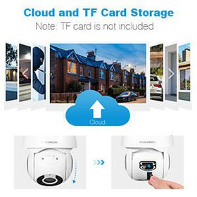 FLOUREON YI IOT Camera HD 1080P WiFi IP Security C