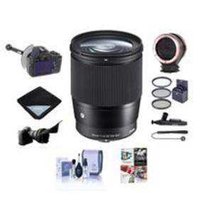 Sigma 16mm f/1.4 DC DN Cont.Lens for Sony E-mount